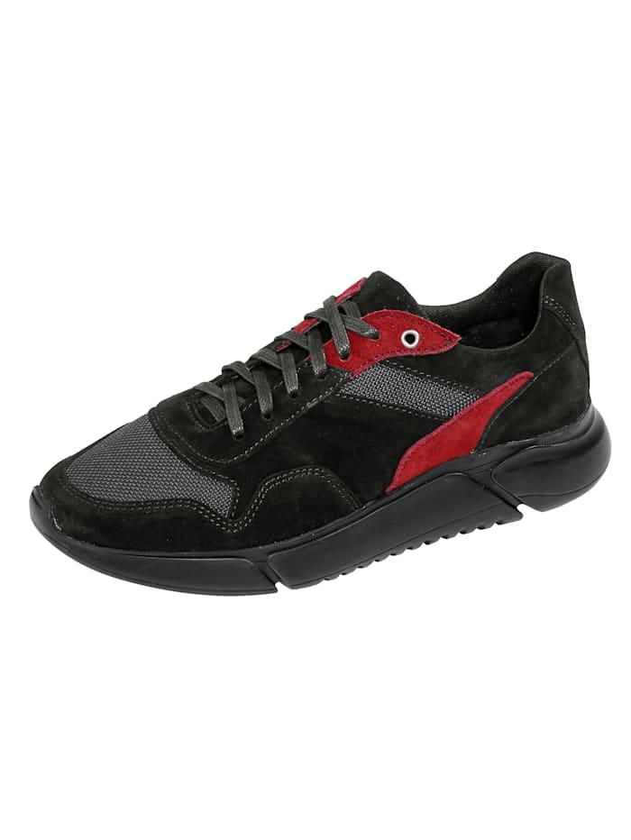 BABISTA Sneaker met meshinzetten, Zwart