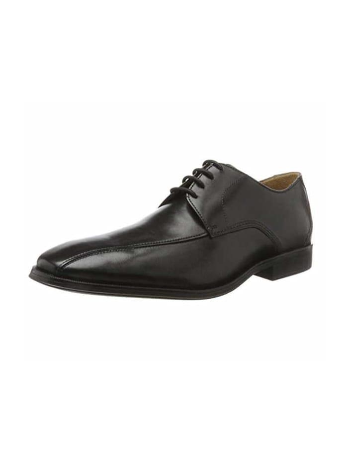 Clarks Herren Schnürschuh in schwarz, schwarz