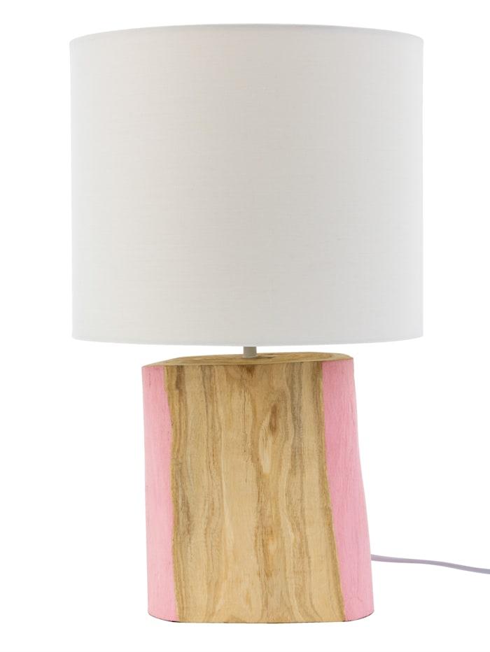 IMPRESSIONEN living Tischleuchte, naturfarben/rosa
