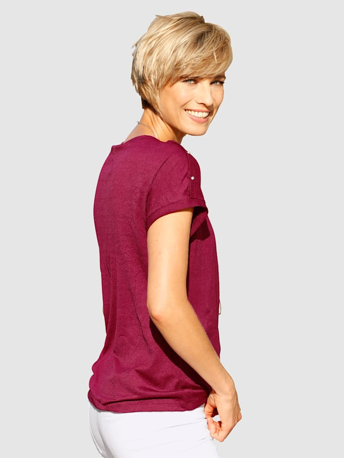 Top with button detailing
