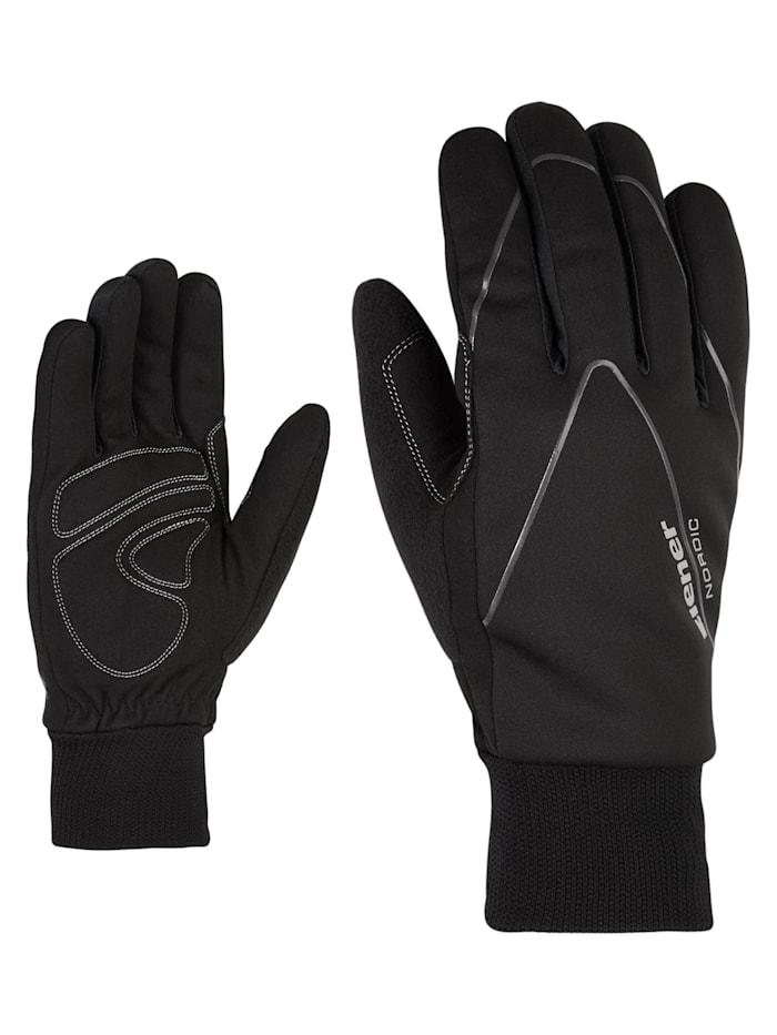 Ziener UNICO glove crosscountry, Black