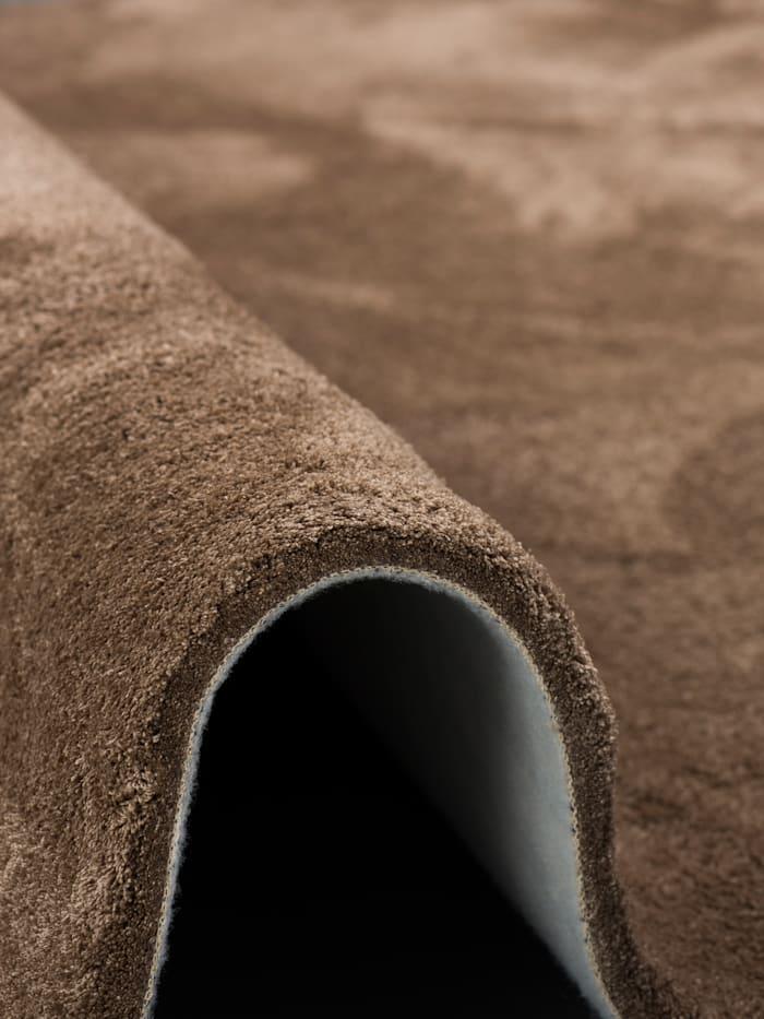 Luxus Hochflor Shaggy Teppich Velvet Rund
