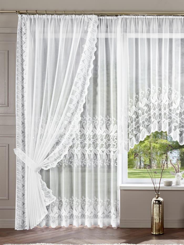 Home Wohnideen Gardinserie -Nadia-, hvit