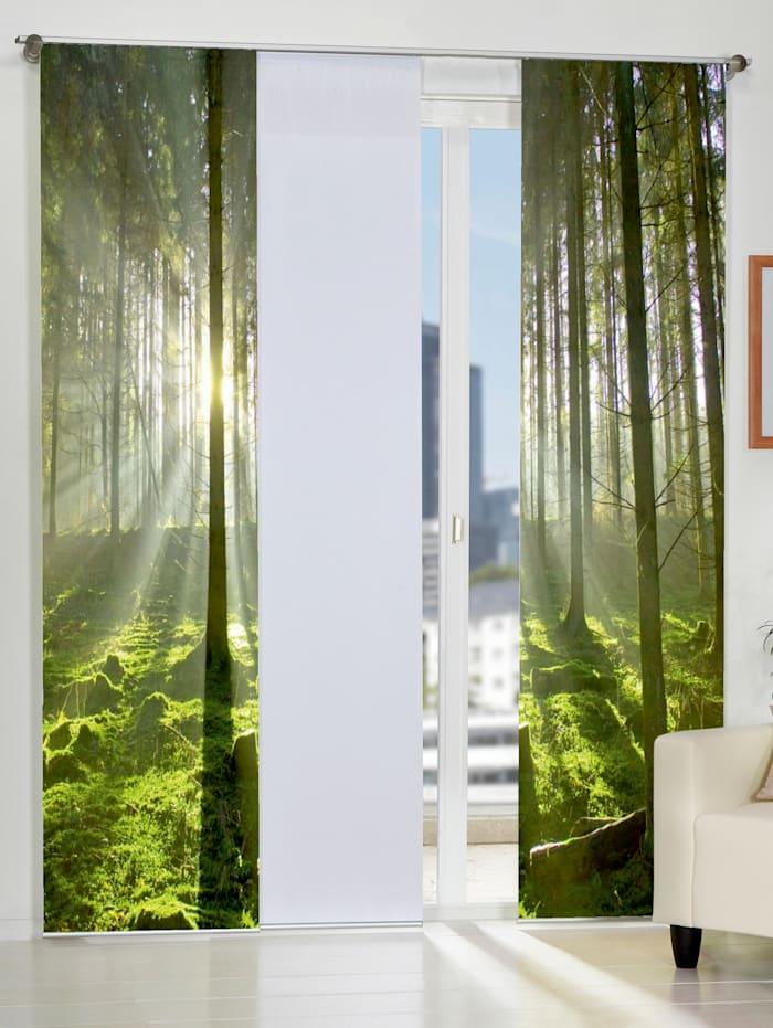 """Home Wohnideen Panneau japonais """"Göteborg"""", Vert"""