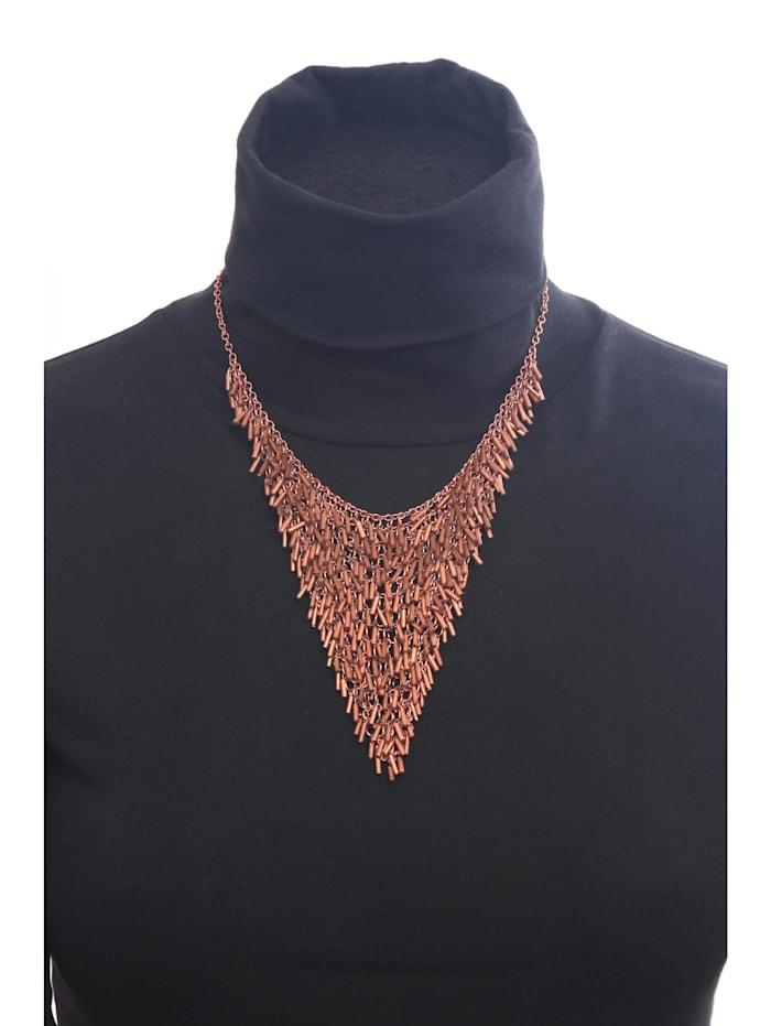 Kurze Kette Elke mit kleinen Perlen besetzt in dreiecksform mit kleinen Perlen