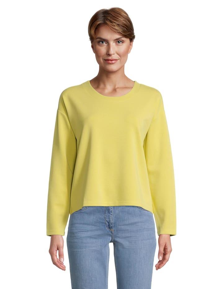 Betty Barclay Sweatshirt mit hohem Kragen, Gelb