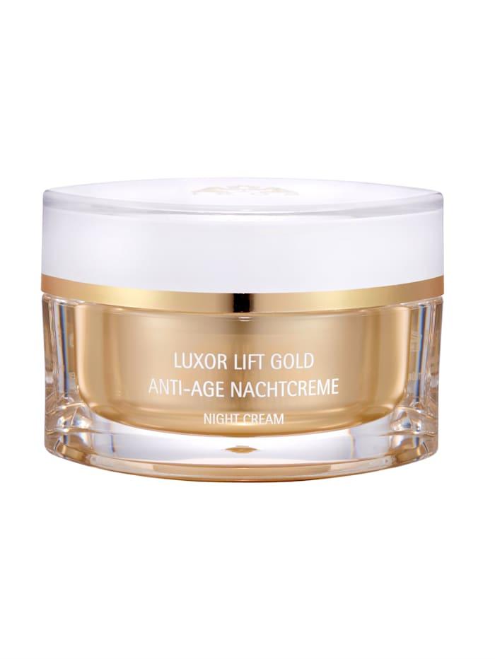 Nachtcrème Luxor Lift Gold, goudkleur