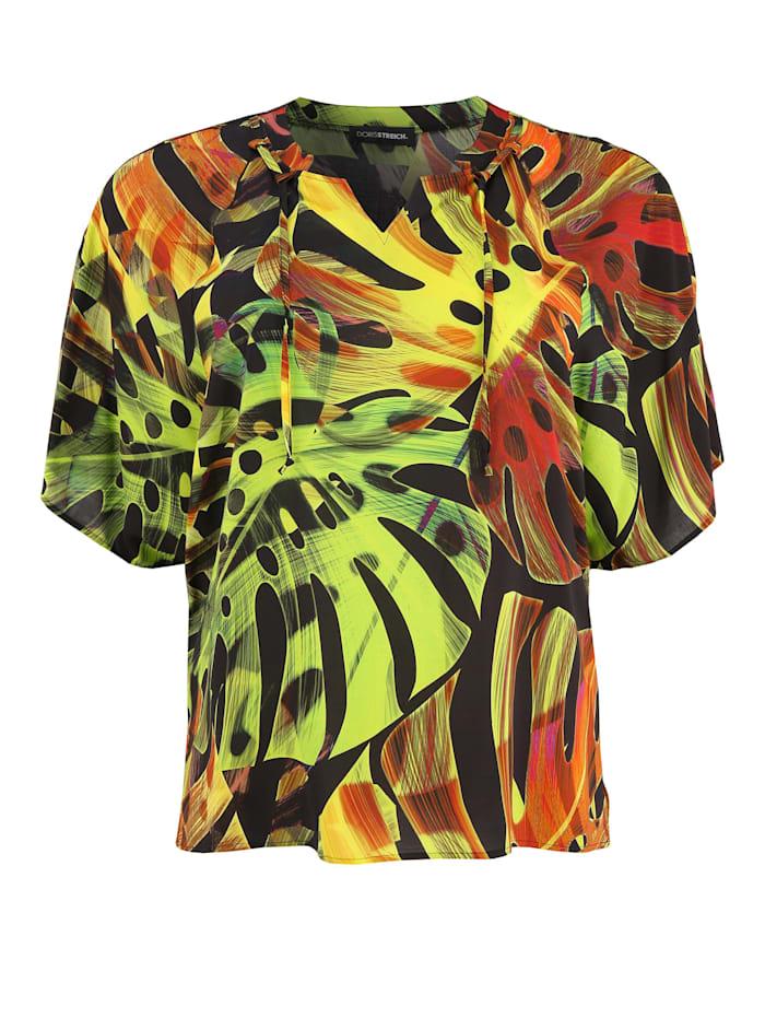 Doris Streich Bluse mit Print, multicolor
