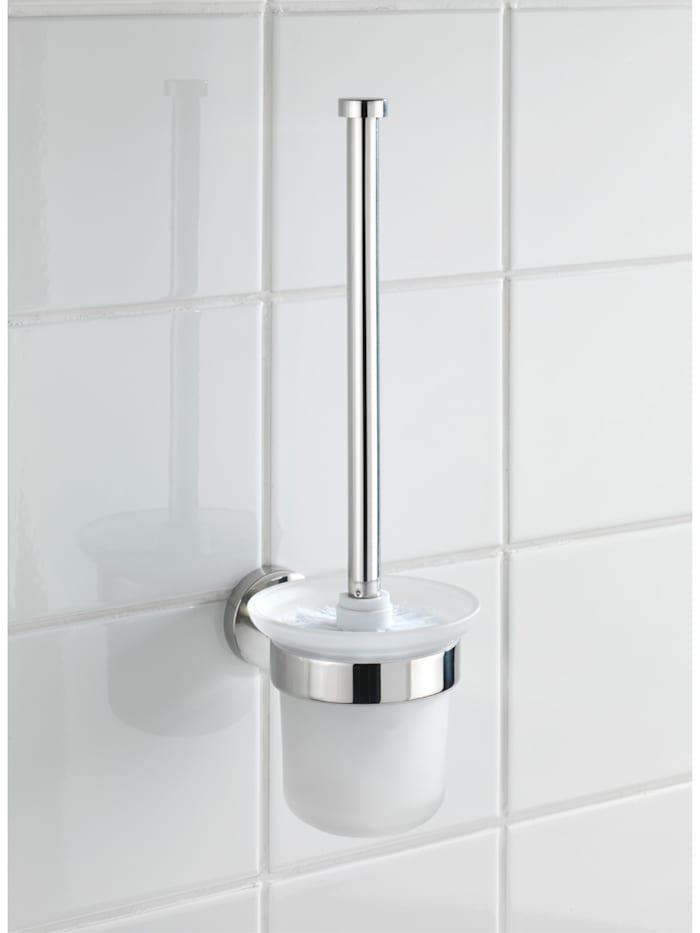 WC-Garnitur offen Bosio Edelstahl glänzend, rostfrei