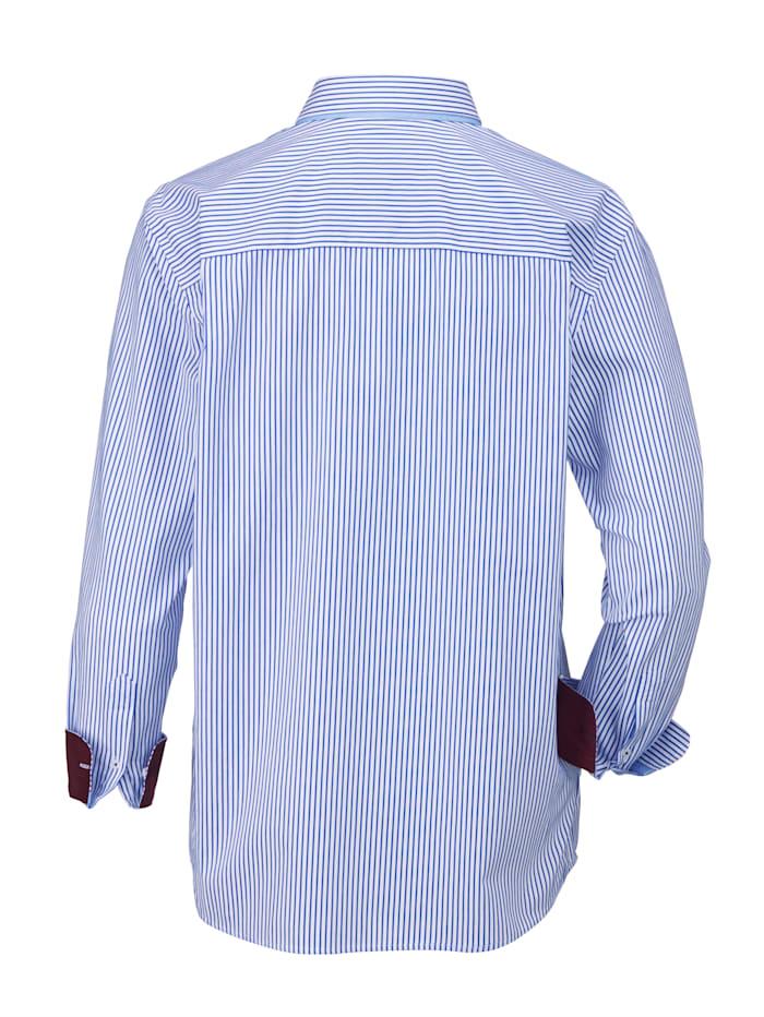 Hemd mit eingesetzter Paspeltasche