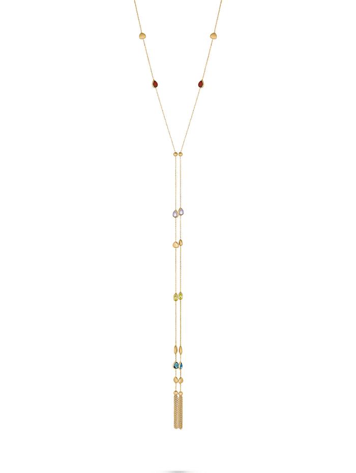 CHRIST C-Collection CHRIST Damen-Kette 375er Gelbgold 2 Amethyst, gelbgold