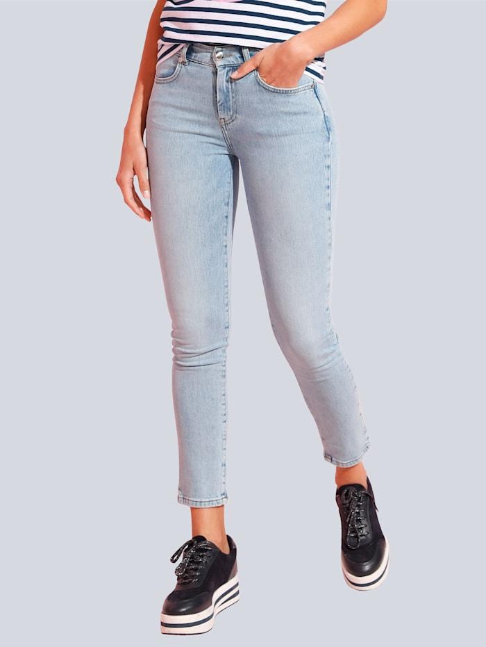 JETTE JOOP Jeans met lichte wassing, Blue bleached