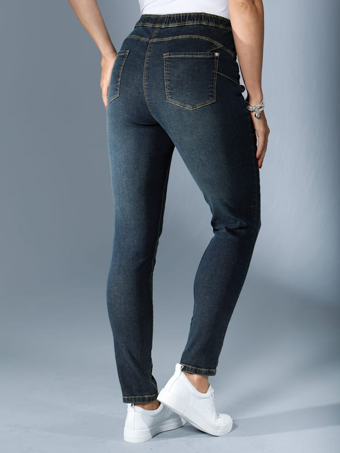 Jegging à coutures push-up