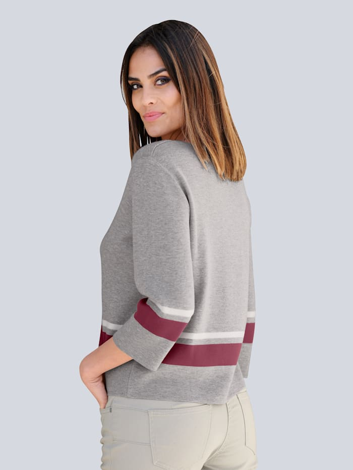 Pullover in leichter Boxy Form