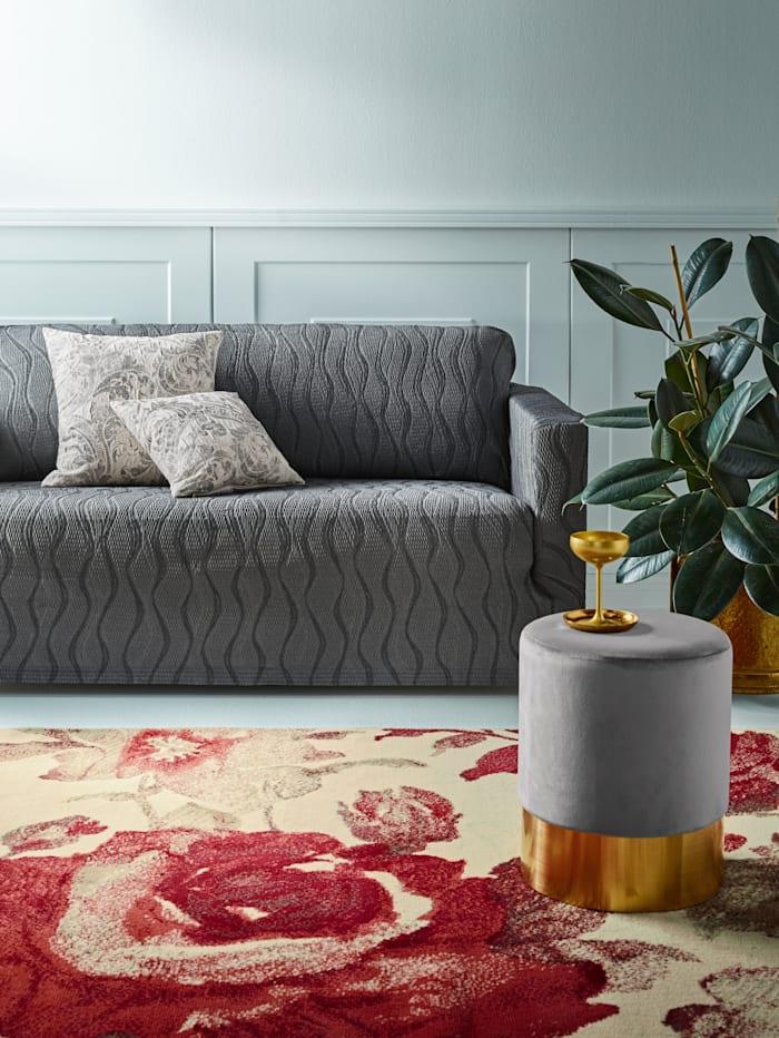 Webschatz Elastische meubelhoezen, grijs