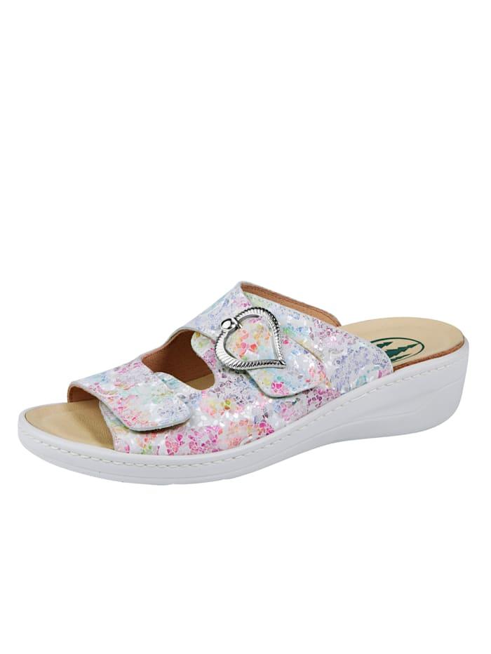 Franken Schuhe Pantolette, Multicolor