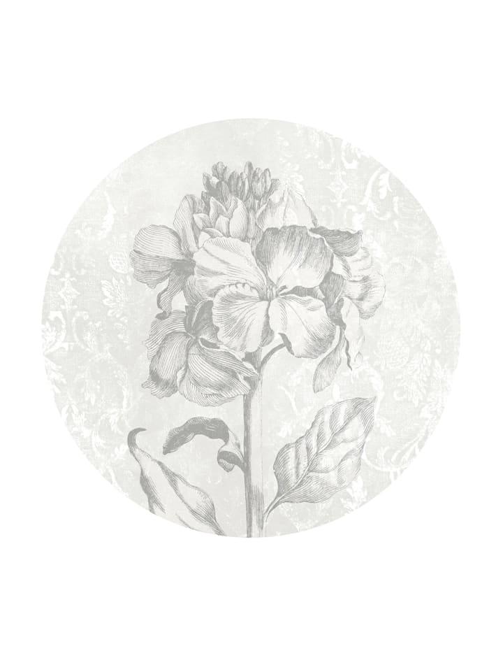 Komar Fototapete 'Barock', Schwarz, Weiß