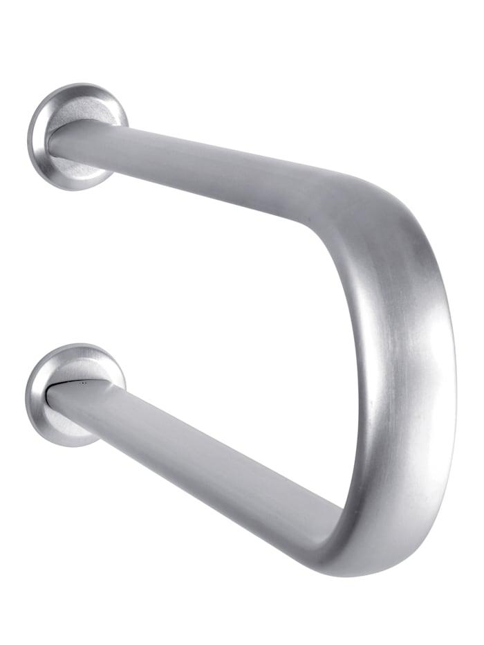 Wenko Barre d'appui pour baignoire Secura Premium, Coloris argenté
