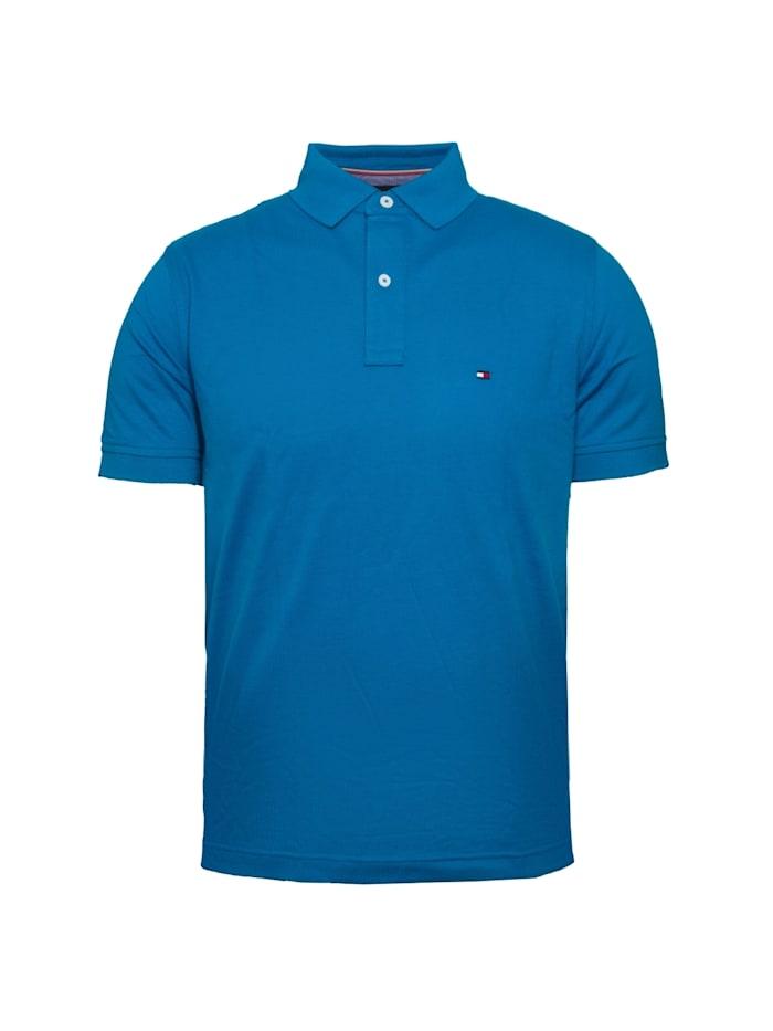 TOMMY HILFIGER Poloshirt Regular Fit, blau