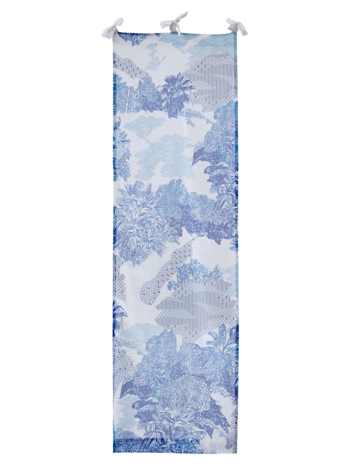 IMPRESSIONEN living Organdy-Vorhang, Blau