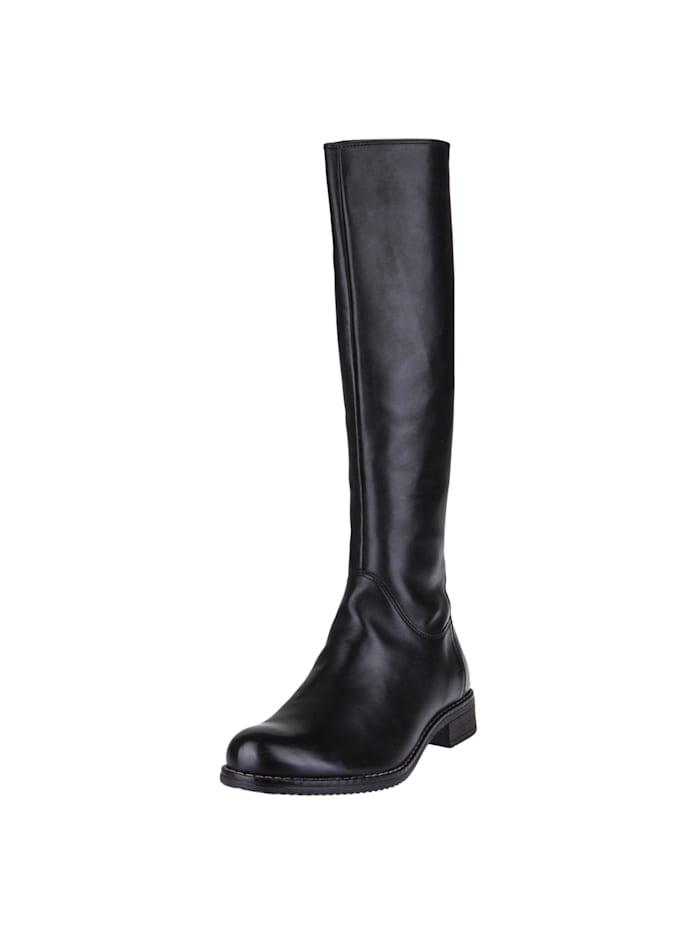 COX Stiefel Reiter-Stiefel, schwarz