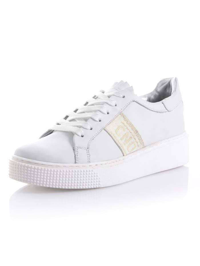CINQUE Sneaker Aus Kalbsleder, Weiß