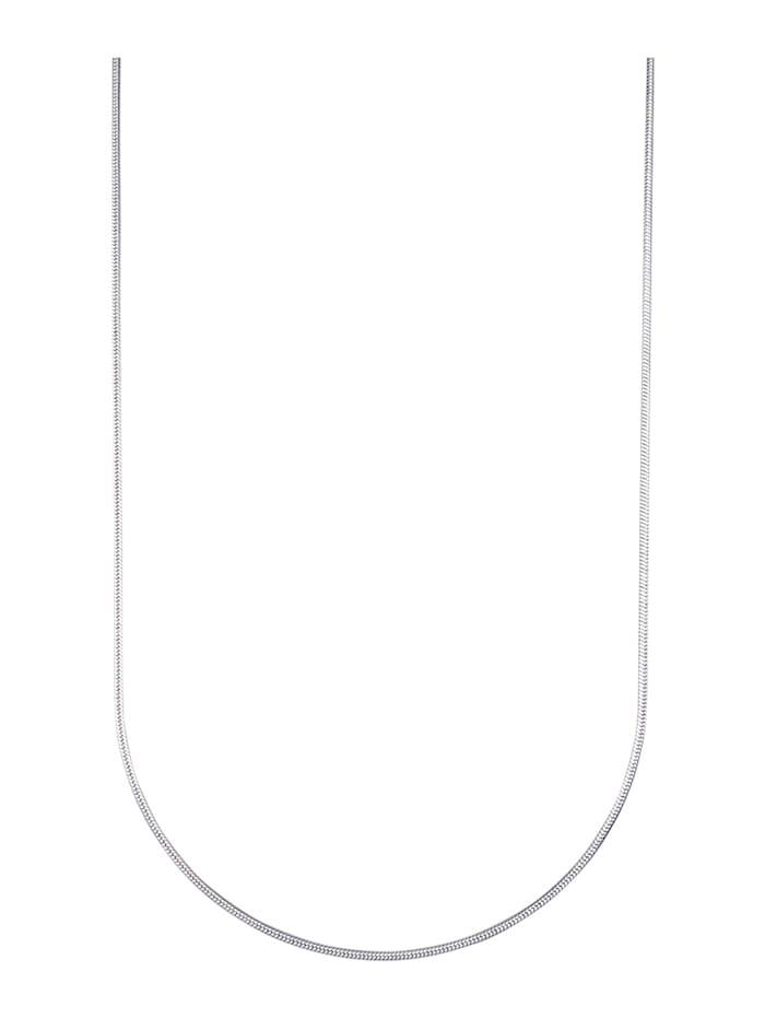 Schlangenkette in Silber 925, Silberfarben
