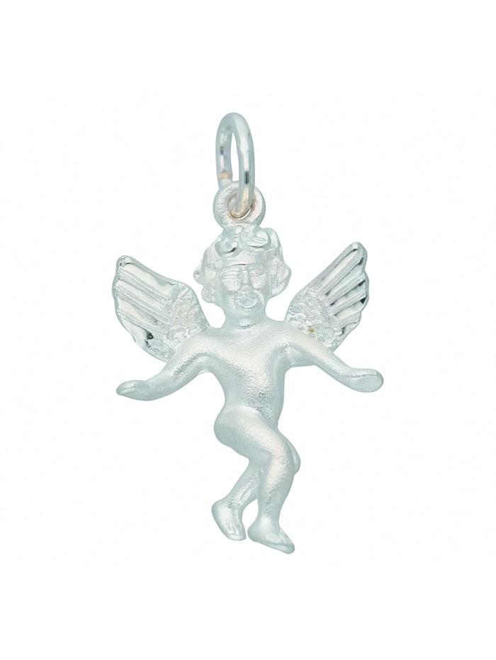 1001 Diamonds Damen Silberschmuck 925 Silber Anhänger Engel, silber