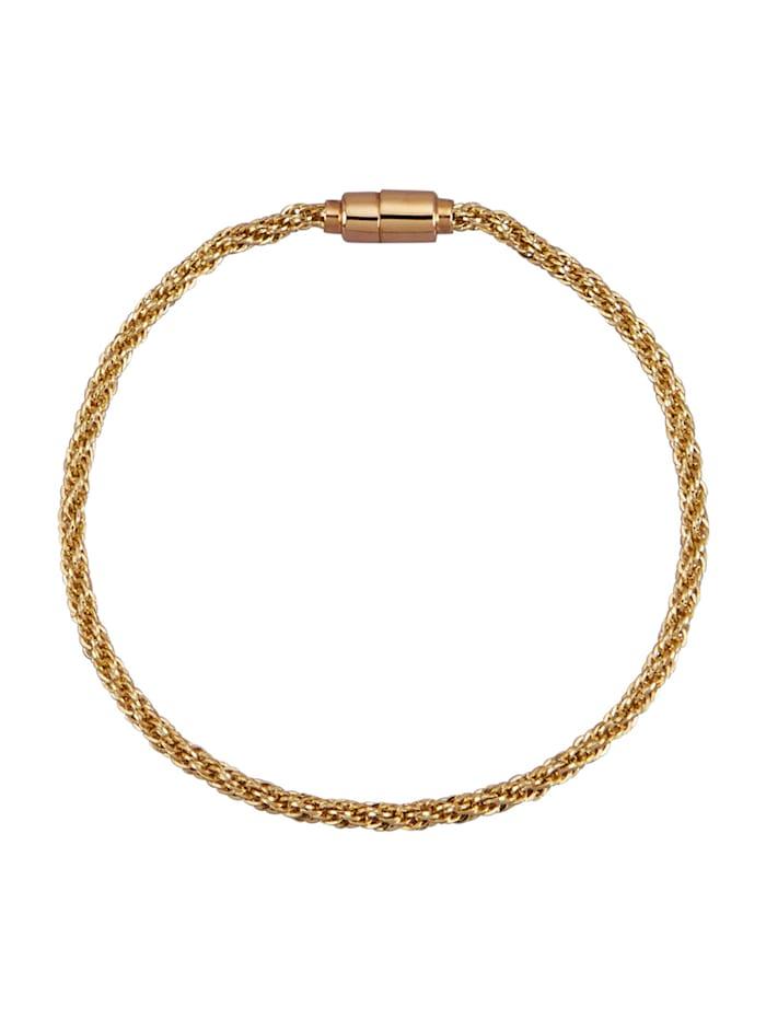 Diemer Gold Koordarmband van 14 kt., Geelgoudkleur