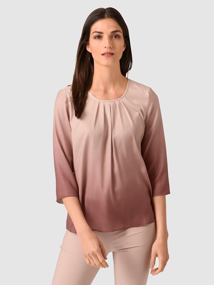 Alba Moda Blúzka v prelive farieb, Ružová