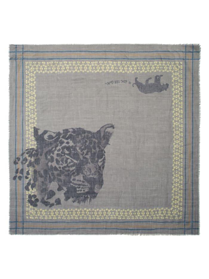 Premium Leo-Tuch aus Modal und Seide