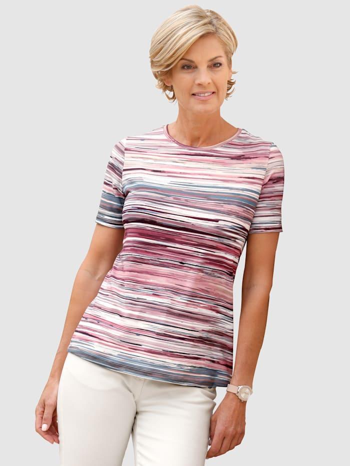 Shirt mit besonderem Druck rundum