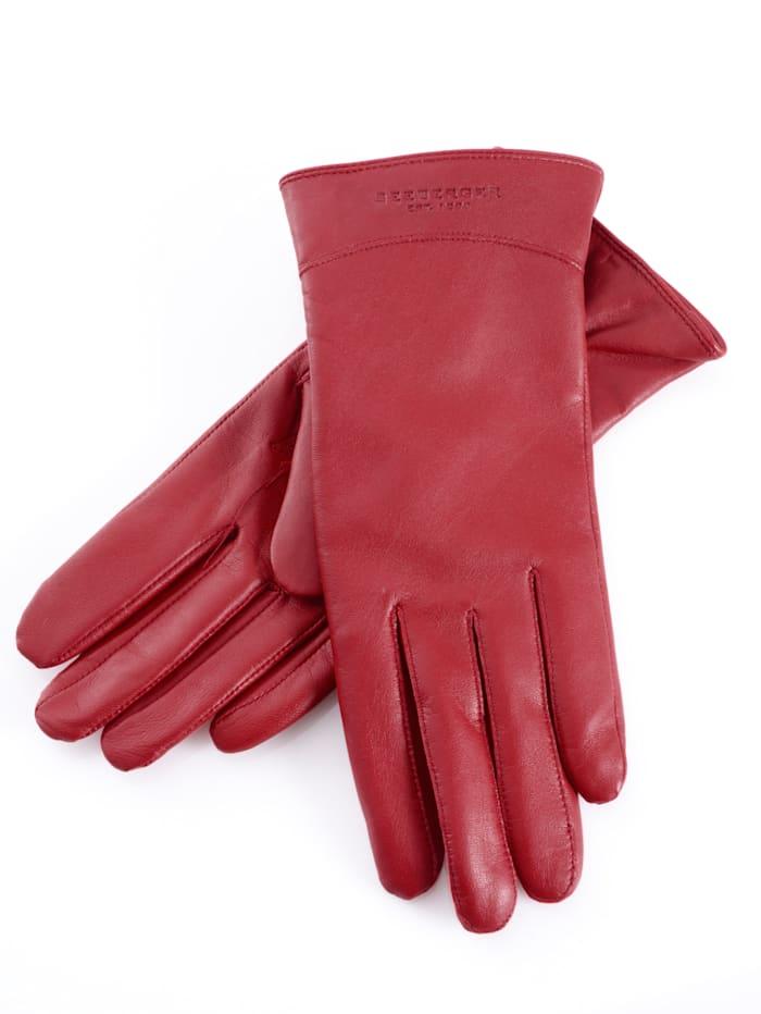 Seeberger Handschuhe, Rot