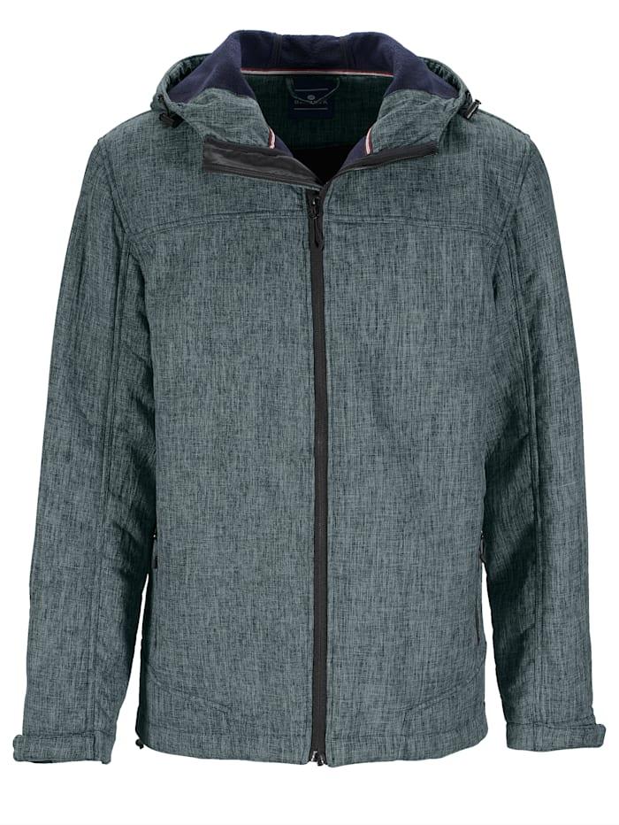 BABISTA Fleecevuorillinen softshell-takki, Sininen