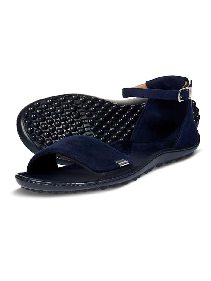 Leguano® Jara sandaal in fris donkerblauw