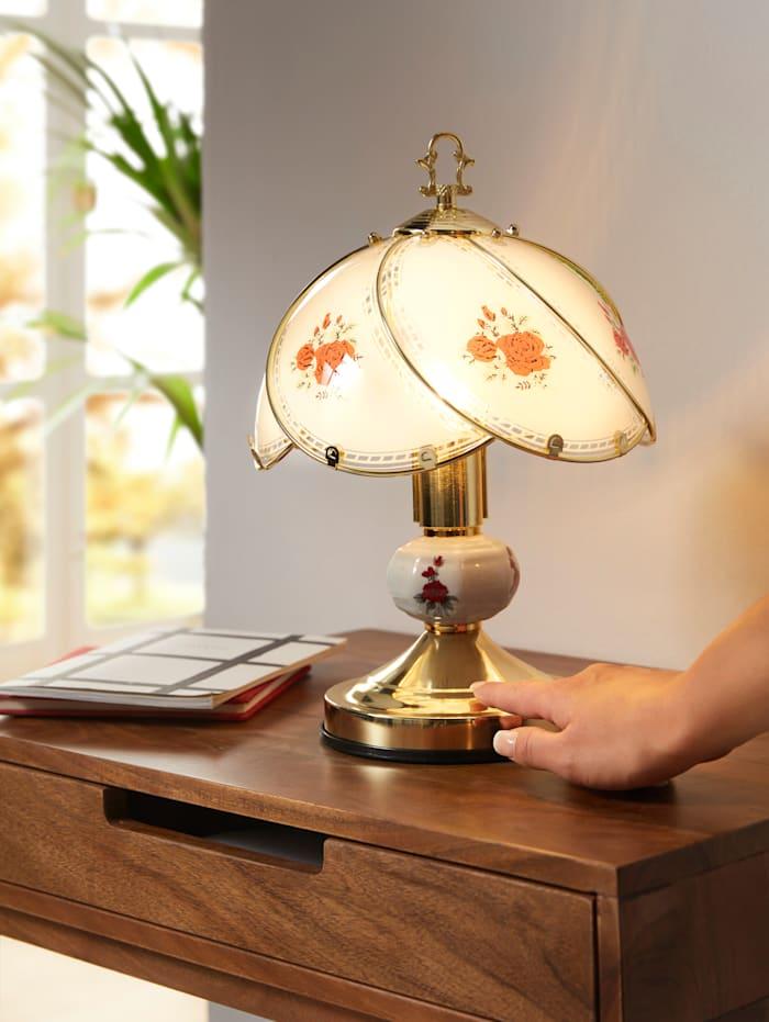Lampe tactile Rose, Blanc