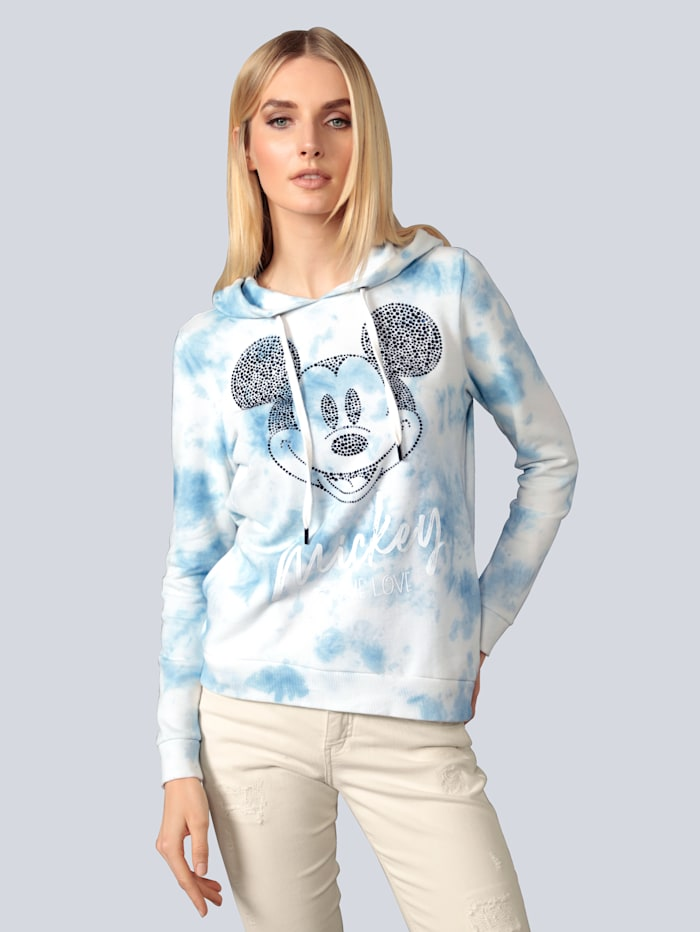 Princess GOES HOLLYWOOD Sweatshirt mit großer Mickeymouse, Blau
