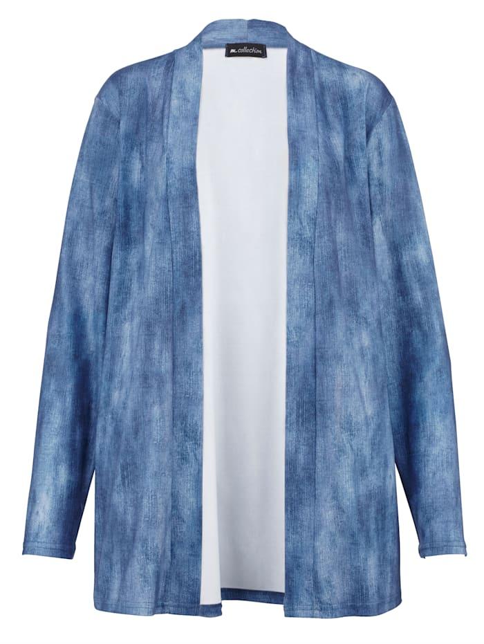 Shirtjacke in verschlussloser Form