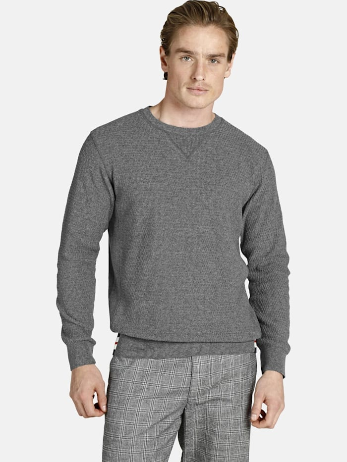 Charles Colby Charles Colby Pullover EARL REECE, grau