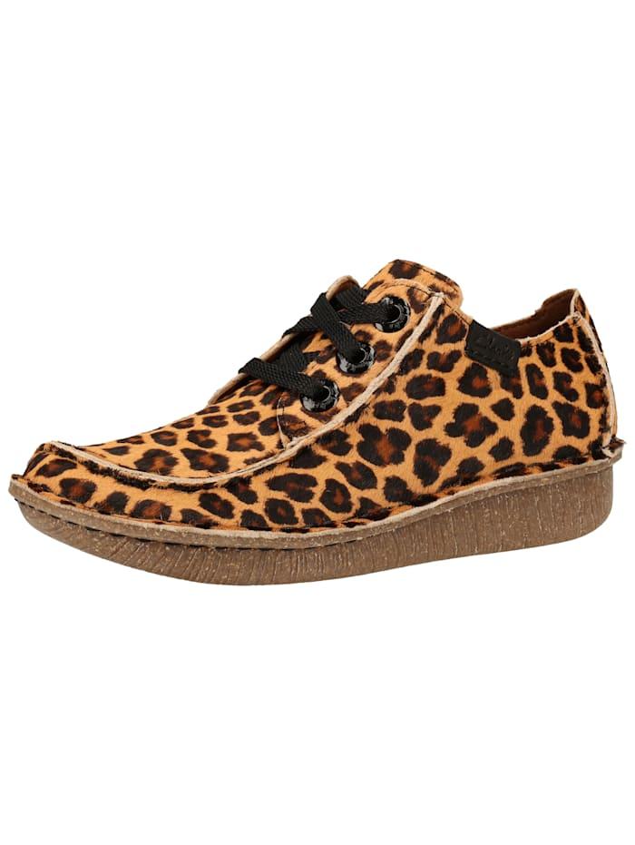 Clarks Clarks Halbschuhe, Leopard
