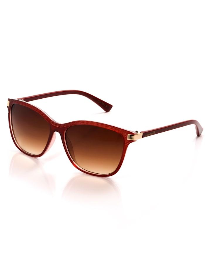 Alba Moda Sonnenbrille im sommerlichen Farbton, Rot