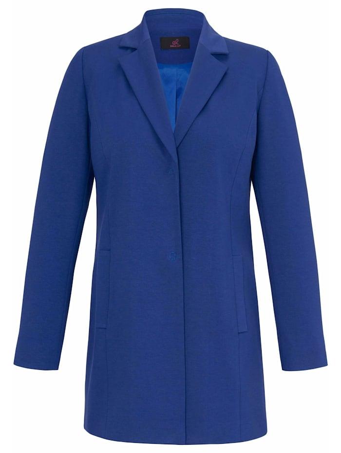Emilia Lay Sweatblazer Jersey-Blazer, royalblau