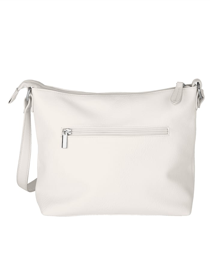 Shoulder Bag with textured panel detail
