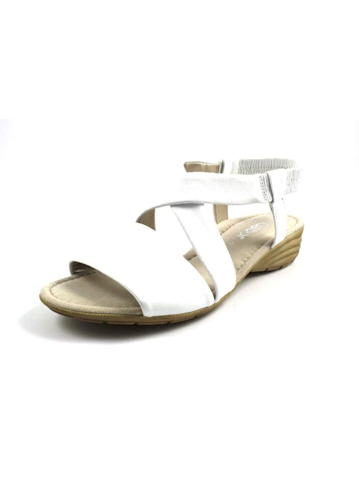 Gabor Sandalen/Sandaletten, weiß