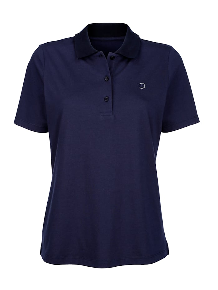 Polo shirt made from sustainable cotton