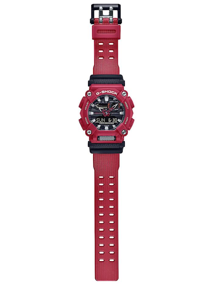 G-Shock Herrenuhr Rot/Schwarz