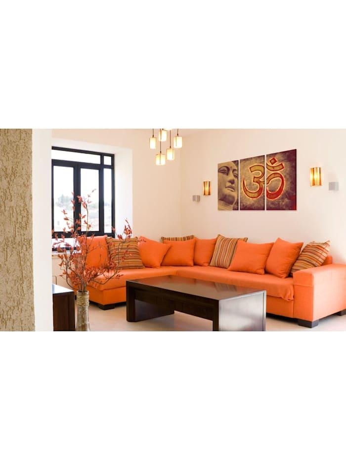 Wandbild Buddha - Symbol