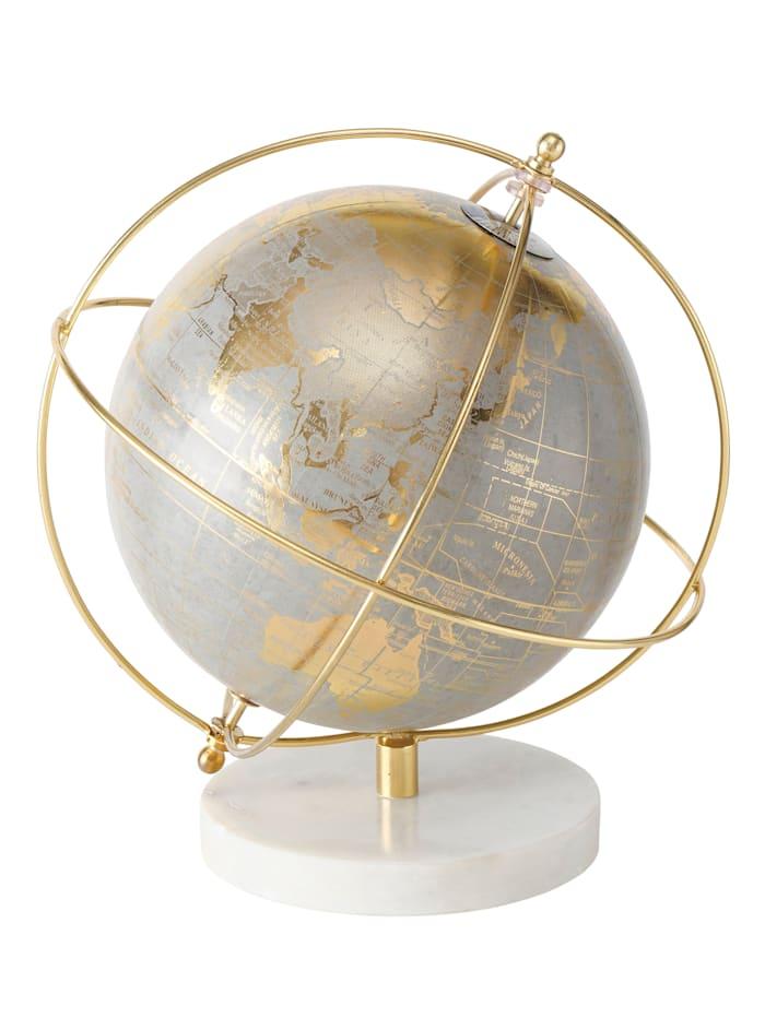 Boltze Deko-Globus, goldfarben