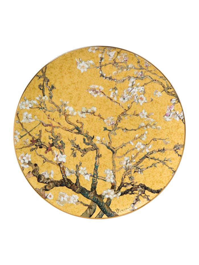 """Goebel Goebel Wandteller Vincent van Gogh - """"Mandelbaum Gold"""", Van Gogh - Mandelbaum gold"""