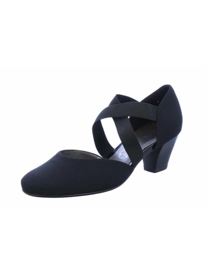 Ara Damen Pump in schwarz, schwarz